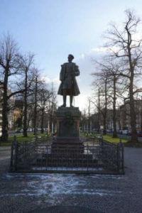 prinz albrecht statue schlossstrasse