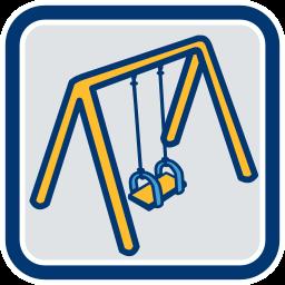 Grafik Icon Schaukel