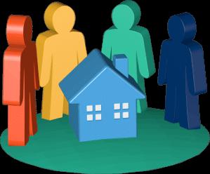 Immobilie Haus Eigentümer Personen