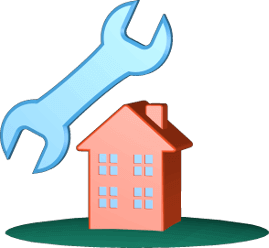 Haus Immobilie Handwerkzeug