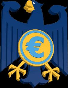 Bundesadler Eurosymbol
