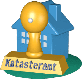 Haus Immobilie Stempel Katasteramt