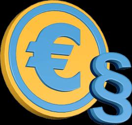 Eurozeichen Paragraphensymbol