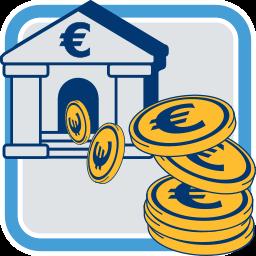 Bank Geld Euro
