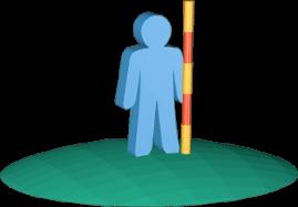 3D Icon Grafik Grundstücke Vermessung