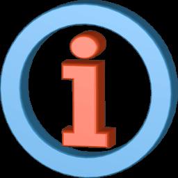 Grafik 3D Icon Information Symbol