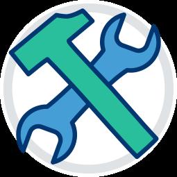 Grafik Icon Werkzeuge