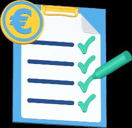 Checkliste Geld