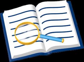 Grundbuch Lupe
