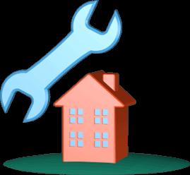3D Grafik Icon Werkzeug Immobilie Haus