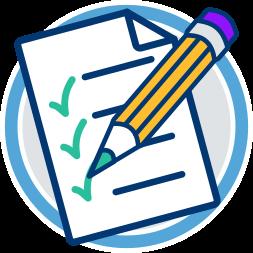 Checkliste Stift