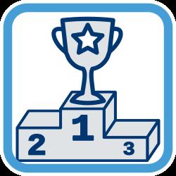 Siegertreppe Pokal