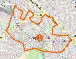 gropiusstadt berlin karte