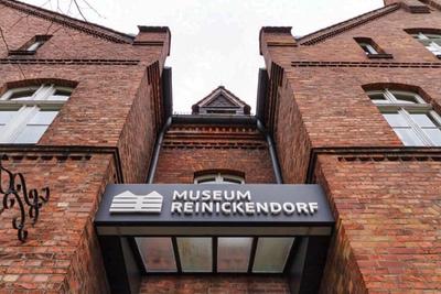 museum reinickendorf hermsdorf eingang schild