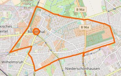 rosenthal berlin karte