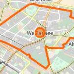 weißensee karte berlin