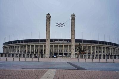 olympiastadion eingang 5 ringe berlin westend