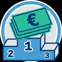 Siegerpodest Geld Vorkaufsrecht