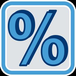Prozentzeichen Immobilienmaklervertrag Provision