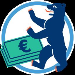 Berliner Bär Geld Wohnungsneubau