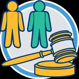 2 Parsonen Richterhammer Nachbarschaftsrecht