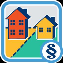 2 Grundstücke Immobilien Häuser Nachbarschaftsrecht
