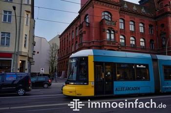 Makler Pankow Straßenbahn Gebäude