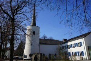 christentum kirche turm hermsdorf reinickendorf