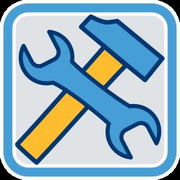 Werkzeug Hammer Schraubenschlüssel