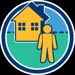 Immobilie Haus Person Alleineigentum
