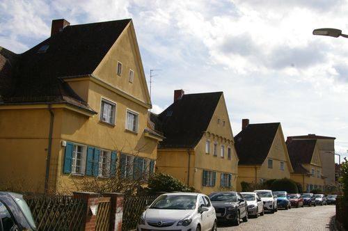 Berlin Mariendorf Monopolsiedlung hausreihe grundstuecke