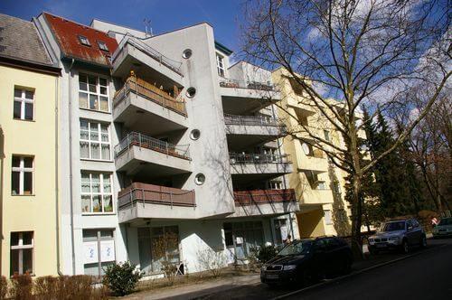 berlin mariendorf Immobilien balkon wohnhaus