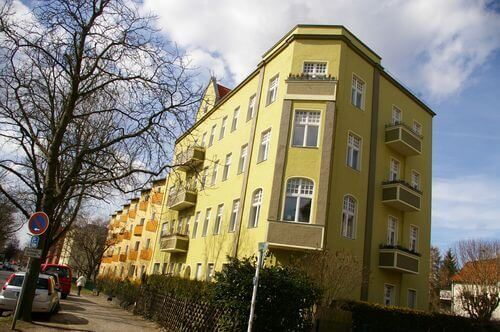 berlin mariendorf gelb wohnung immobilie