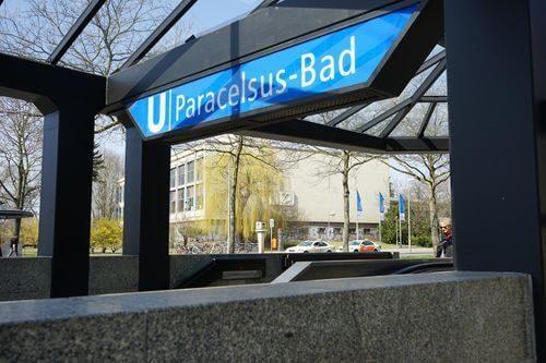 berlin reinickendorf u-bahnhof paracelsus-bad