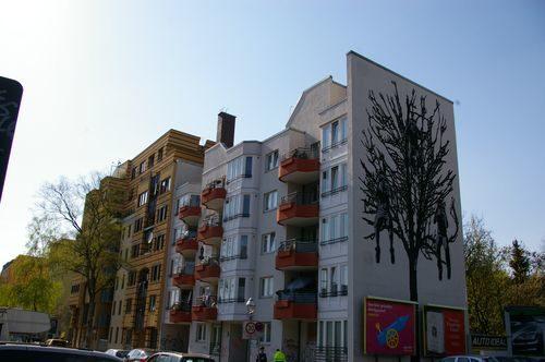 baum fassade balkon immobilie wedding wohnung