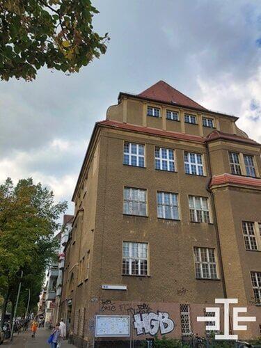 baumschulenweg atbau grafitti immobilie