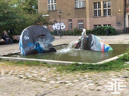baumschulenweg wasser springbrunnen volkshochschule