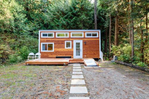 Tiny Haus und Garten