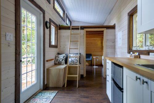 Inneneinrichtung eines Tiny Hauses