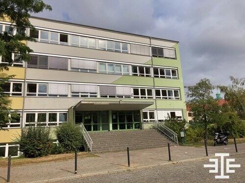 plaenterwald grundschule eingang roller