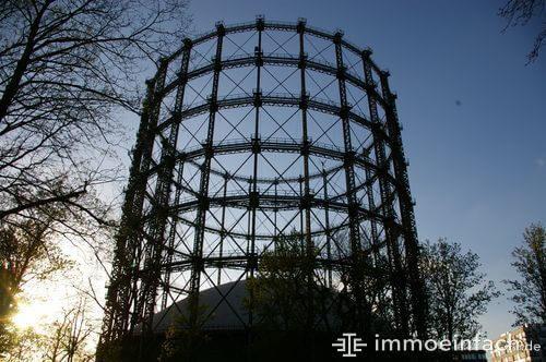 schoeneberg berlin gasometer sonnenuntergang