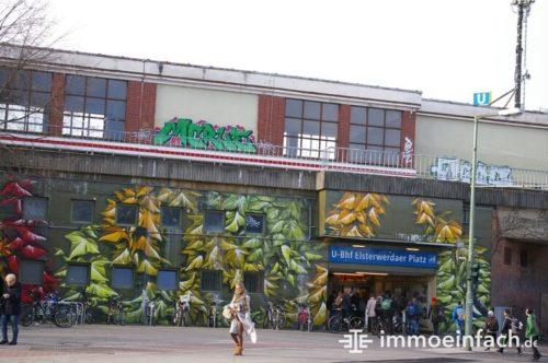 Biesdorf Berlin Bahnhof Elsterwerdaer Platz Wissenswertes