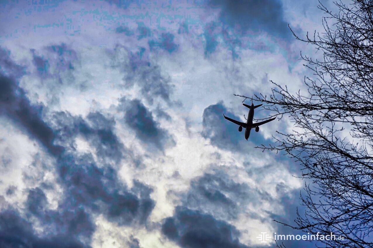 Flugzeug Himmel Park