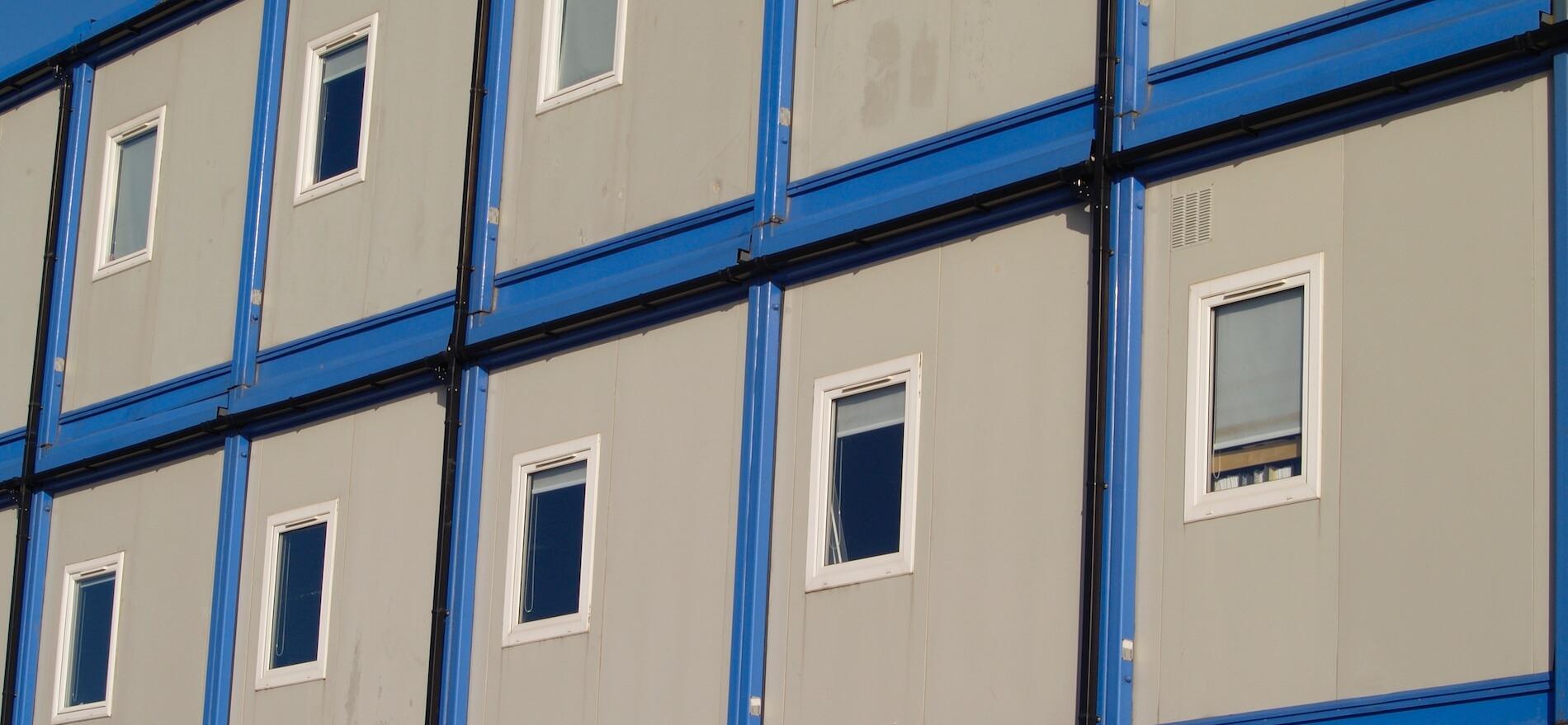 Buerocontainer Baustelle