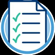 checkliste dokument haekchen