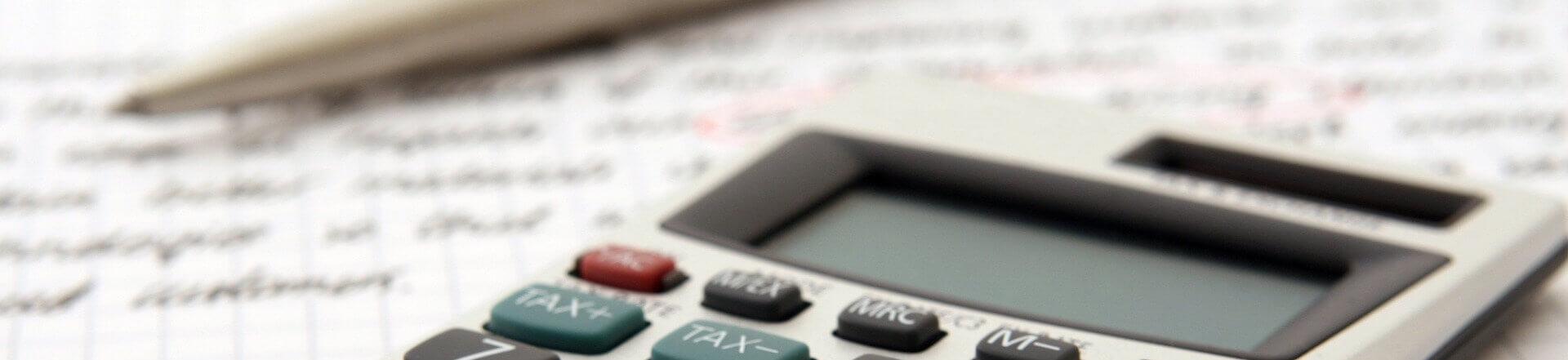 Taschenrechner Dokument Eigenheimfinanzierung