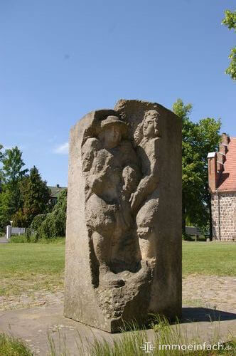 Hugenottenskulptur franzoesisch buchholz menschen denkmal