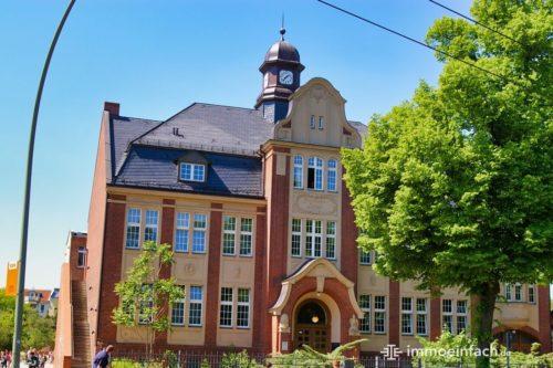 Schule Gemeindeschule Gebäude Immobilie Berlin