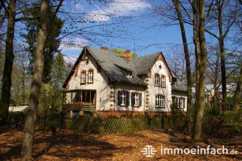 Grünau Berlin Einfamilienhaus Wald Immobilienmakler