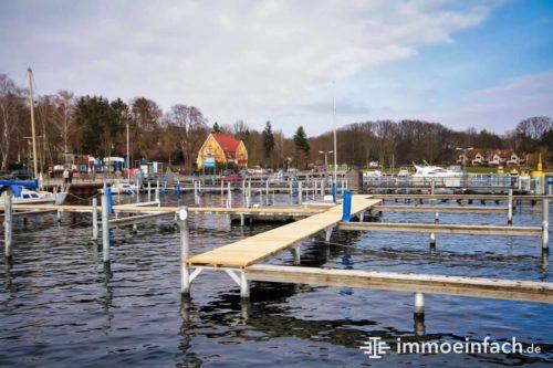 Hafen Kladow Steg Wasser